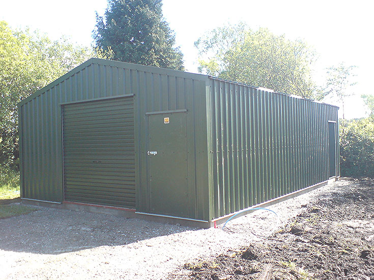 Garages Workshops Gallery Washingbay Sheds And Cladding
