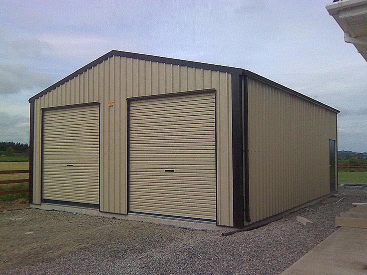 garages workshops gallery washingbay sheds and cladding. Black Bedroom Furniture Sets. Home Design Ideas